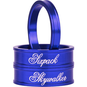 "Sixpack Skywalker Spacer 1 1/8"" blue"